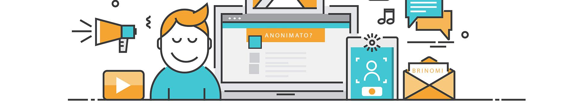 sobre anonimato aos donos de site