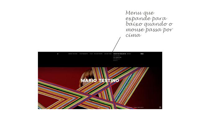 exemplo web design moderno