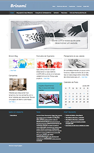 nosso site corporativo antes de setembro de 2013