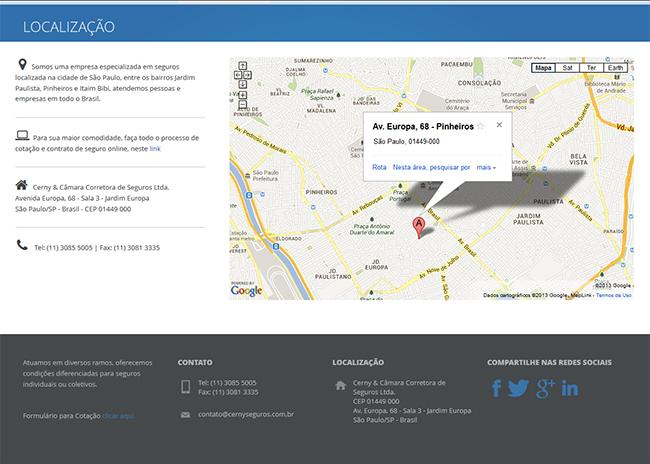Portfolio de website da Brinomi Web Design