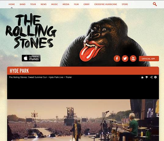 site de artista desenvolvido em wordpress