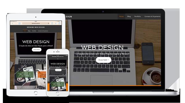 foto do nosso site responsivo em diferentes dispositivos