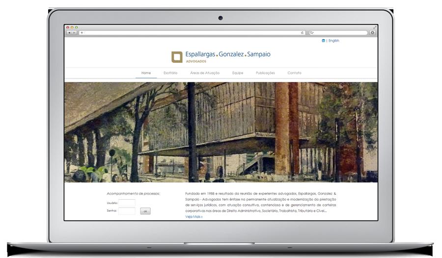 Website para Escritório de Advocacia